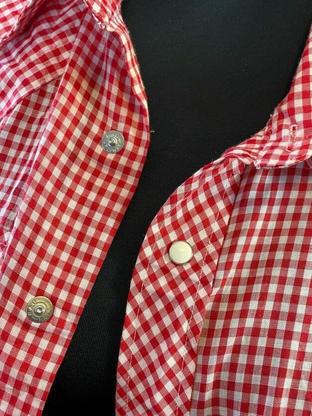 snap up vintage shirt