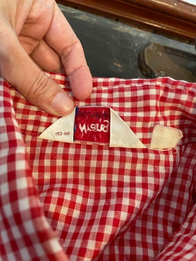 80s Wrangler label