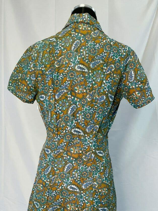 vintage 70s work dress