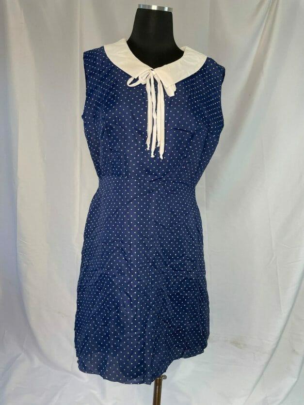 1960s nautical dress