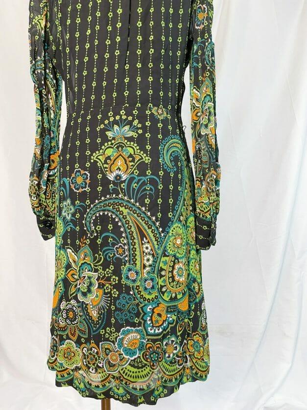 vintage 70s psychedelic dress for sale