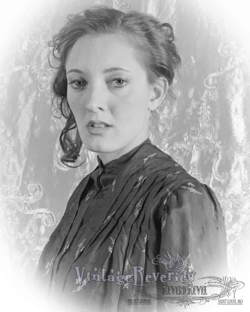 1880s style portrait
