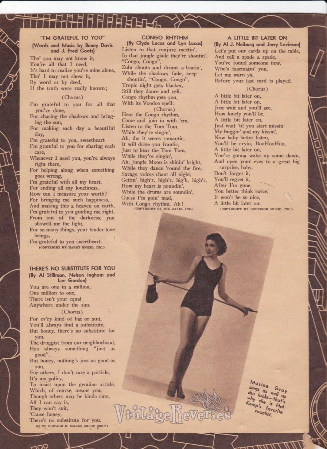 1930s pop songs