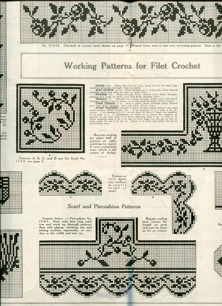 free Edwardian Lace Patterns