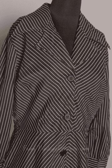 vintage pinstripe dress for sale